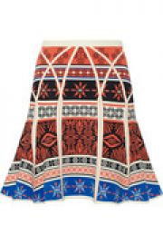 Samara jacquard-knit skirt at The Outnet