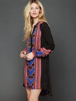 Same dress in a different print at Free People
