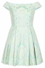 Same dress in mint green at Topshop