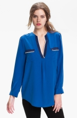 Same top in blue at Nordstrom