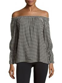 Sanctuary - Charlotte Off-The-Shoulder Printed Blouse at Saks Off 5th
