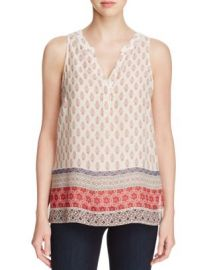 Sanctuary Mori Boho Print Sleeveless Top at Bloomingdales