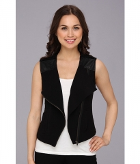 Sanctuary Soft City Vest Black at 6pm