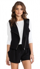 Sanctuary Soft City Vest in Black  REVOLVE at Revolve