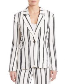 Sanctuary striped blazer at Lord & Taylor