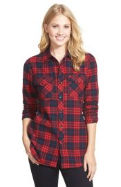Sandra Plaid Flannel Shirt at Nordstrom