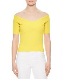 Sandro Galina Off-The-Shoulder Sweater at Bloomingdales