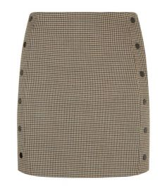 Sandro Houndstooth Mini Skirt at Harrods