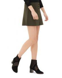 Sandro Joelle Lace-Up Skirt at Bloomingdales
