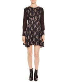 Sandro Kaiya Printed Dress at Bloomingdales