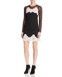Sandro Kyra Mixed-Lace Dress - 100  Bloomingdale  039 s Exclusive at Bloomingdales