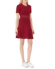 Sandro Riley Fit andamp Flare Dress at Bloomingdales
