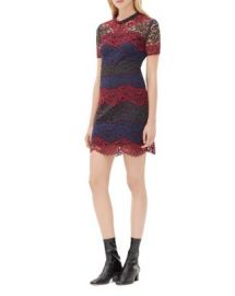 Sandro Rodney Lace Dress at Bloomingdales