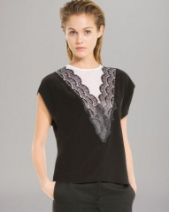 Sandro Top - Eblouie Lace at Bloomingdales