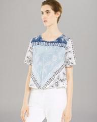 Sandro Top - Elise Print at Bloomingdales