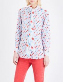 Sandro star print blouse at Selfridges