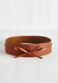 Sash Samba Belt in Cognac at ModCloth