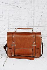 Satchel in Tan at Urban Outfitters