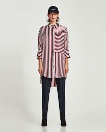 Sateen Shirt Dress by Zara at Zara