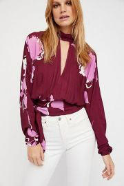 Say you love me blouse at Free People
