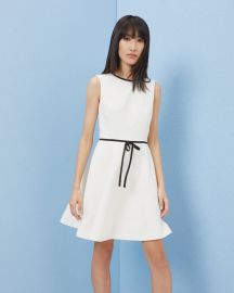 Saydey Bow Detail Skater Dress by Ted Baker at Ted Baker
