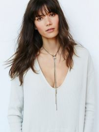 Sayna Delicate Chain Bolo at Free People