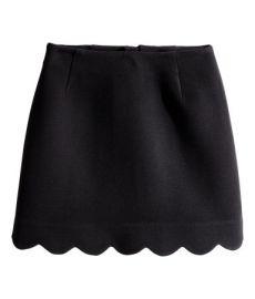 Scalloped Skirt at H&M