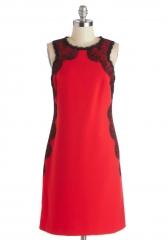 Scarlet Enchantress Dress at ModCloth