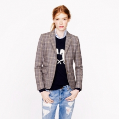 Schoolboy Blazer in English Tweed at J. Crew