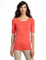 Scoop neck top by Michael Stars at Amazon