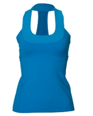 Scoopneck Tank in blue at Lululemon