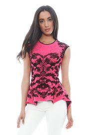 Scorpio Lace Peplum Top at Singer 22