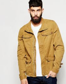 Scotch and Soda Canvas Jacket at Asos