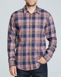 Scotch andamp Soda Plaid Work Shirt - Slim Fit at Bloomingdales
