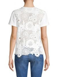 Sea - St  Tropez Lace Tee at Saks Fifth Avenue