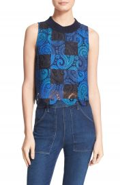 Sea Crochet Lace Crop Tank at Nordstrom
