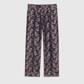 Seahorse Jacquard Evening Pant by Gucci at Gucci