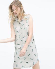 Seahorses Dress at Zara
