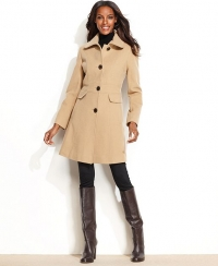 Seamed Coat by Kenneth Cole at Macys