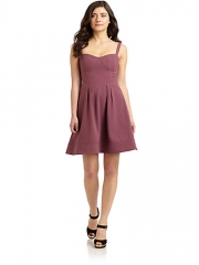 Seamed bustier dress by Z Spoke at Saks Fifth Avenue