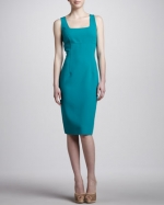 Seamed sheath dress by Michael Kors at Neiman Marcus