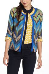 Seared Chevrons Cardigan at Anthropologie