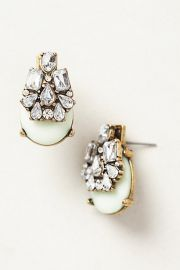 Seastone Earrings at Anthropologie