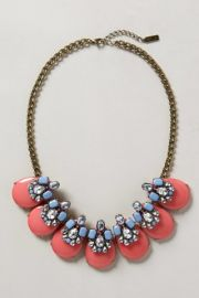 Seastone Necklace at Anthropologie