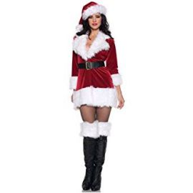 Secret Wishes Christmas Collection Ms  Santa In Training Costume at Amazon