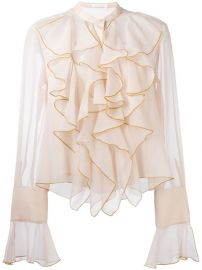 See By Chlo  233  Ruffled Bell Sleeve Blouse at Farfetch