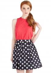 See You Round Skirt at ModCloth