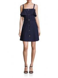 See by Chlo  - Button-Front Denim Dress at Saks Fifth Avenue