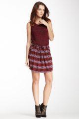 See by Chloe Printed Silk Skirt at Nordstrom Rack