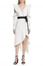 Self-Portrait Cold Shoulder Asymmetrical Dress at Nordstrom